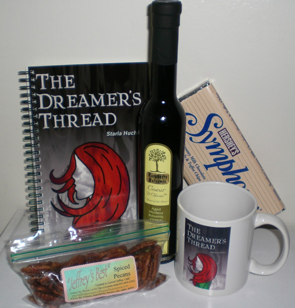 A few things from the BASKET OF AWESOME basket.