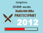 NaNoWriMo Word Count - 18 Nov 2012