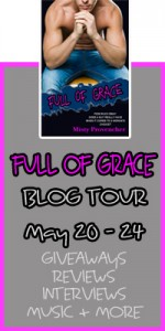 FULL OF GRACE blog tour banner