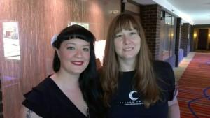 Me with Melissa Hayden, Balticon 2013