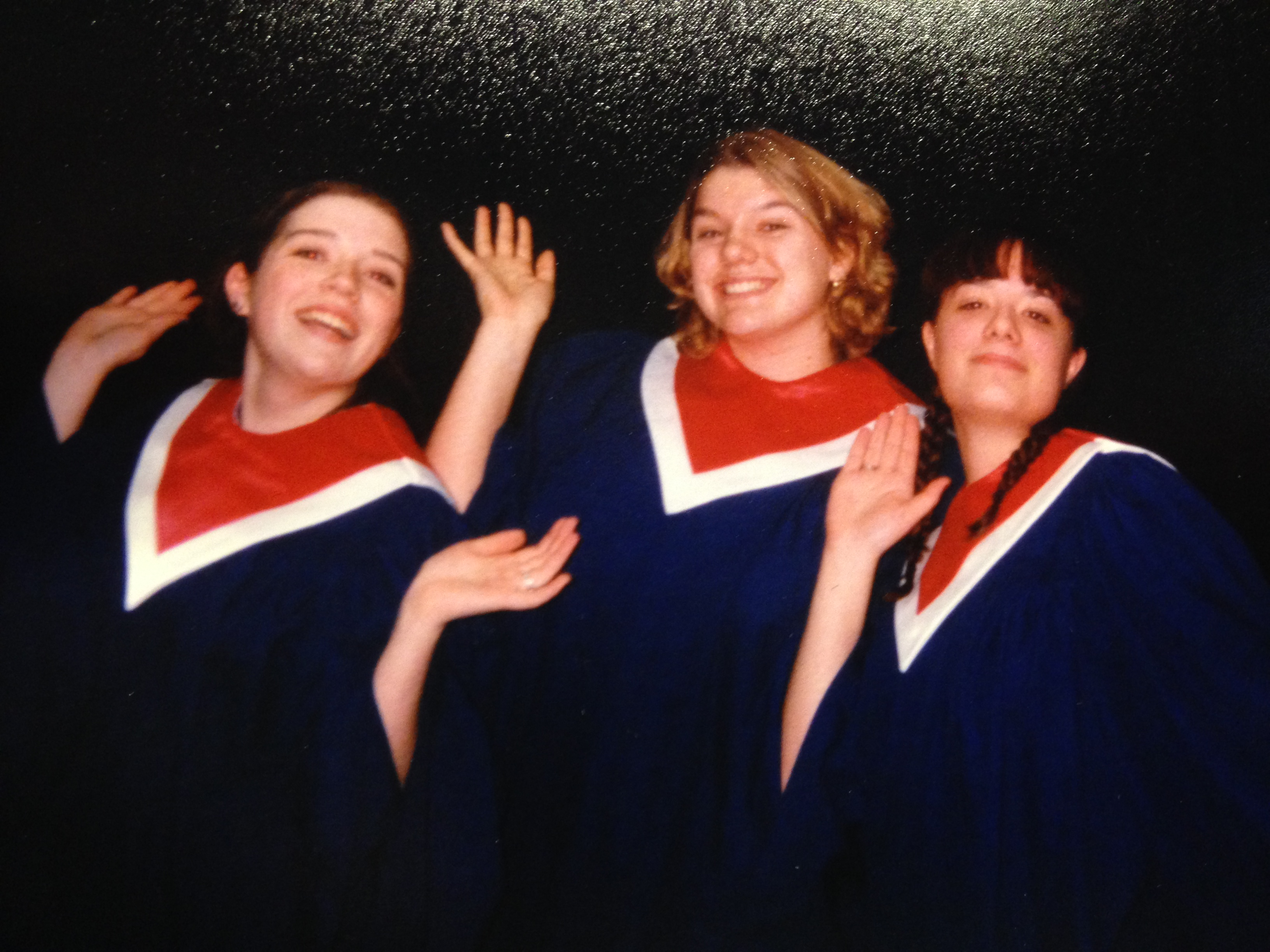 The North High School 1997 All-State Honor Choir members